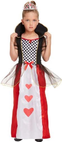 Facny Dress Queen of Hearts Costume 4-6 Years